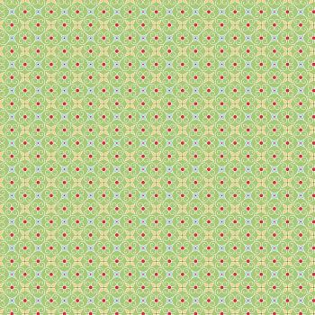 Riley Blake Fabric ~ Cozy Christmas ~ Wrapping Paper Green