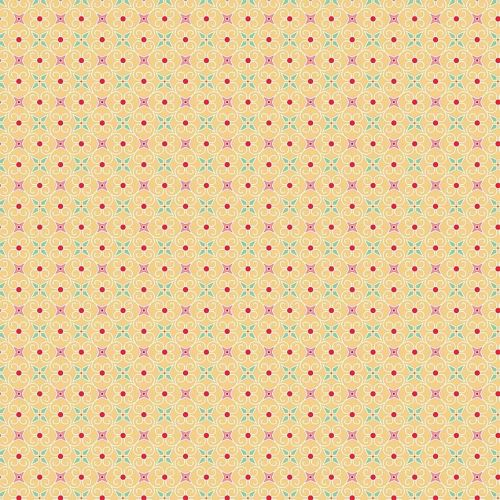 Riley Blake Fabric ~ Cozy Christmas ~ Wrapping Paper Yellow