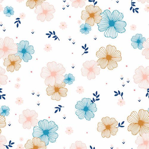 Dashwood Studio ~ Millefleur ~ Floral