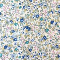 Sevenberry Fabric ~ Roses Blue