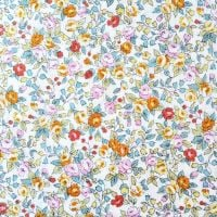 Sevenberry Fabric ~ Roses Yellow