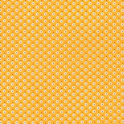 Robert Kaufman Fabrics ~ Penny's Pets ~ Dinky Daisy in Screamin' Yellow