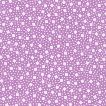 Robert Kaufman Fabrics ~ Penny's Pets ~ Falling Squares in Hibiscus