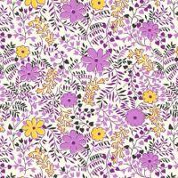 P & B Textiles ~ Feedsack ~ Cuttings Lilac