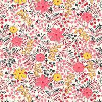 P & B Textiles ~ Feedsack ~ Cuttings Pink