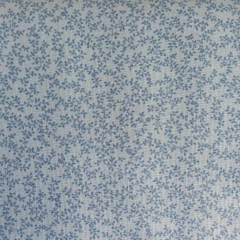 Lecien Fabric ~ Quilters Basic ~ Little Leaves Duck Egg