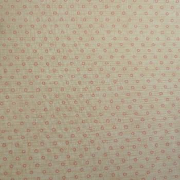 Lecien Fabric ~ Quilters Basic ~ Dainty Dots Peach