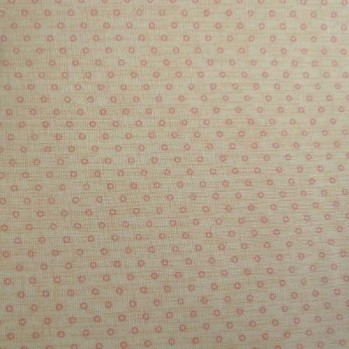 Lecien Fabric ~ Petite Pastels ~ Dainty Dots Peach