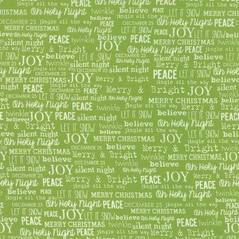 Moda Fabric ~ The Cookie Exchange ~ Joy Grass
