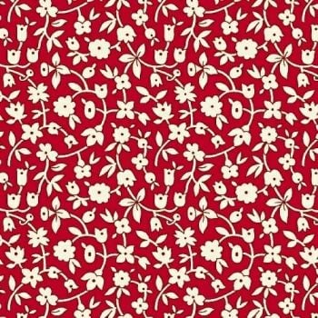 Marcus Brother Fabrics ~ Aunt Grace ~ Ditsy Red
