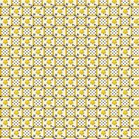 Marcus Brother Fabrics ~ Aunt Grace ~ Floral Plaid Yellow