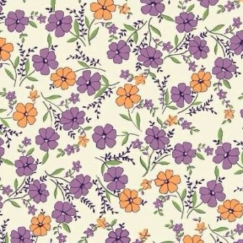 Marcus Brother Fabrics ~ Aunt Grace ~ Wild Flower Lilac
