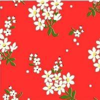 Windham Fabrics ~ Feedsack ~ Flower Cluster Red