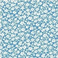 Windham Fabrics ~ Feedsack ~ Mono Floral Blue