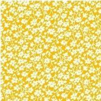 Windham Fabrics ~ Feedsack ~ Mono Floral Yellow
