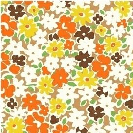 Windham Fabrics ~ Feedsack ~ Multi Floral Yellow