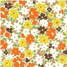 Windham Fabrics ~ Feedsack ~ Multi Floral Yellow
