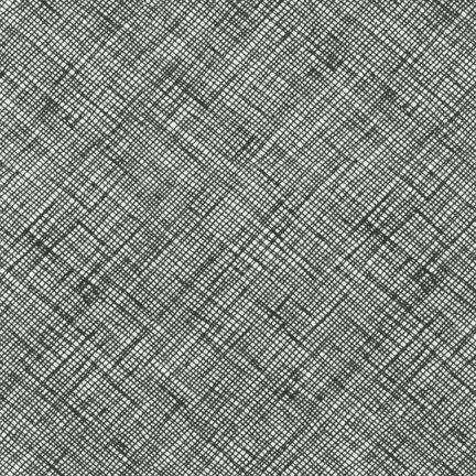 Robert Kaufman Fabrics ~ Architextures ~ Crosshatch Black