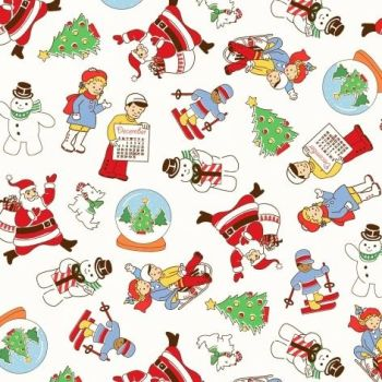 Windham Fabrics ~ Storybook Christmas ~ Main
