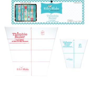 Lori Holt of Bee in my Bonnet ~ Thimble Rulers