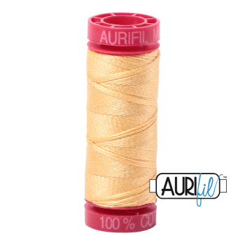 Aurifil ~ 12 wt Cotton ~ 2130 ~ Medium Butter