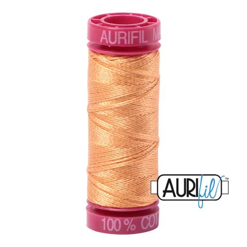 Aurifil ~ 12 wt Cotton ~ 2214 ~ Pale Orange