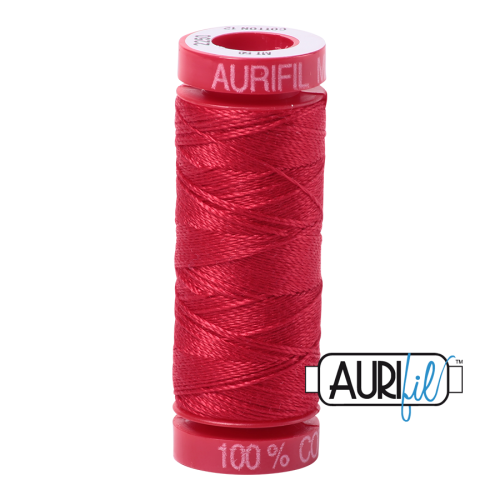 Aurifil ~ 12 wt Cotton ~ 2250 ~ Red