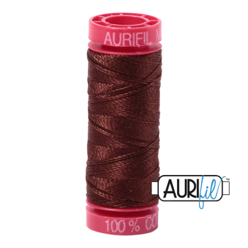 Aurifil ~ 12 wt Cotton ~ 2360 ~ Chocolate Brown