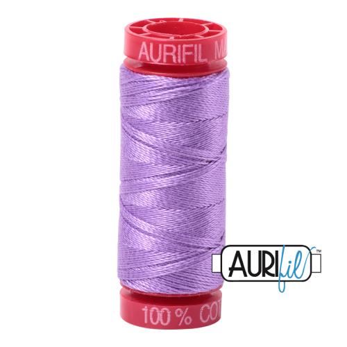 Aurifil ~ 12 wt Cotton ~ 2520 ~ Violet