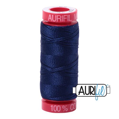 Aurifil ~ 12 wt Cotton ~ 2784 ~ Navy Blue