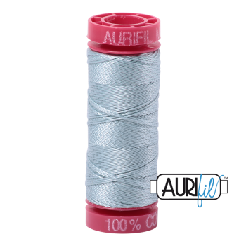 Aurifil ~ 12 wt Cotton ~ 2847 ~ Duck Egg Blue