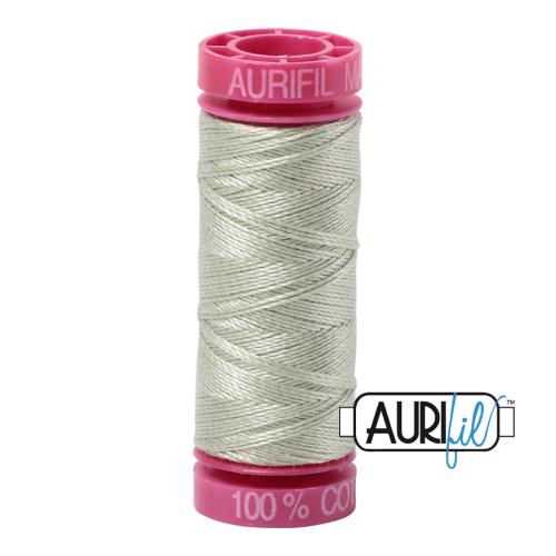 Aurifil ~ 12 wt Cotton ~ 2908 ~ Pistachio