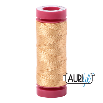 Aurifil ~ 12 wt Cotton ~ 5001 ~  Ochre Yellow