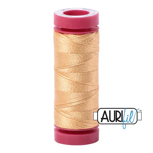 Aurifil ~ 12 wt Cotton ~ 5001 ~ Golden Yellow