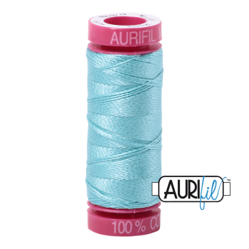 Aurifil ~ 12 wt Cotton ~ 5006 ~ Light Turquoise