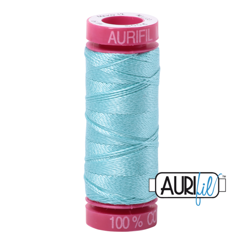 Aurifil ~ 12 wt Cotton ~ 5006 ~ Aqua