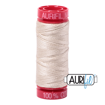 Aurifil ~ 12 wt Cotton ~ 2310 ~ Light Beige