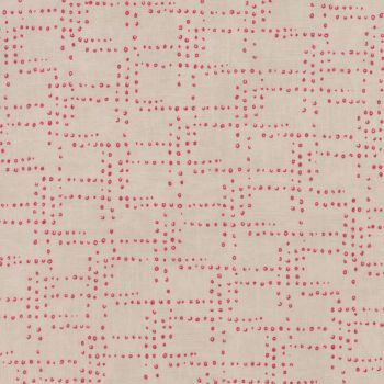 Moda Fabric ~ Flight ~ Rivets Red/Cream