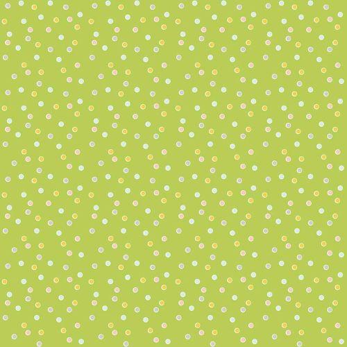 Riley Blake ~ Sweet Orchard ~ Dot Green
