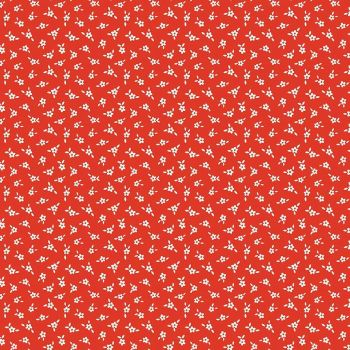Penny Rose Fabrics ~ Apple Farm ~ Blossom Red