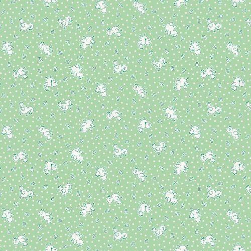 Penny Rose Fabrics ~ Apple Farm ~ Chickadee Green