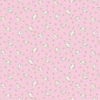 Penny Rose Fabrics ~ Apple Farm ~ Chickadee Pink
