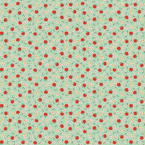 Penny Rose Fabrics ~ Apple Farm ~ Fresh Green