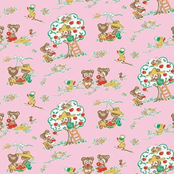 Penny Rose Fabrics ~ Apple Farm ~ Main Pink