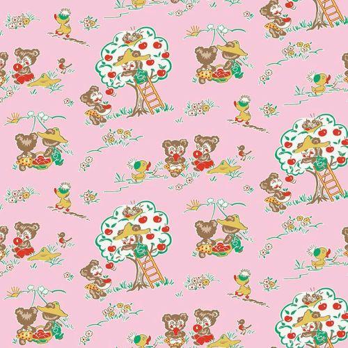 Penny Rose Fabrics ~ Apple Farm ~ Main Pink