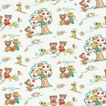 Penny Rose Fabrics ~ Apple Farm ~ Main White