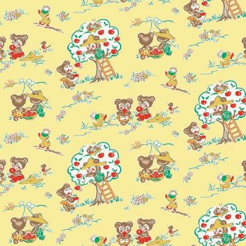 Penny Rose Fabrics ~ Apple Farm ~ Main Yellow