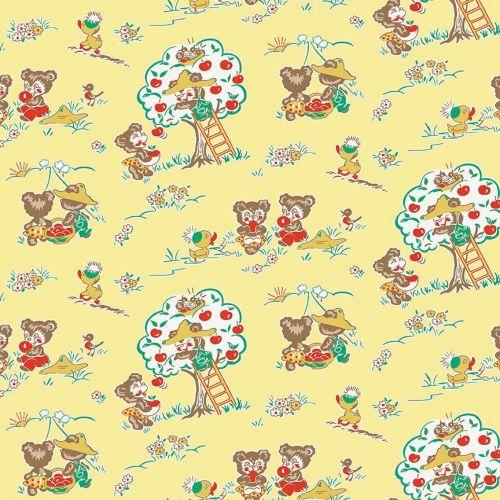 Penny Rose Fabrics ~ Apple Farm ~ Main Yellow