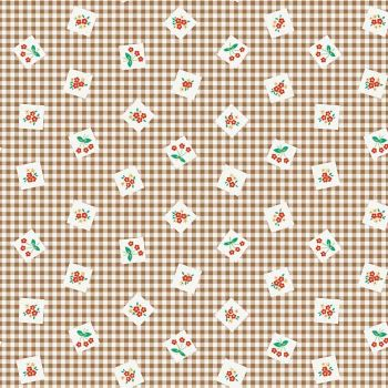 Penny Rose Fabrics ~ Apple Farm ~ Picnic Brown