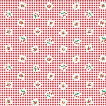 Penny Rose Fabrics ~ Apple Farm ~ Picnic Red